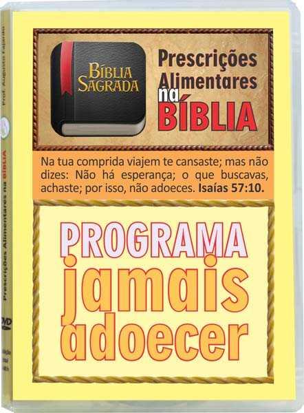 DVD Prescrições Alimentares na Bíblia