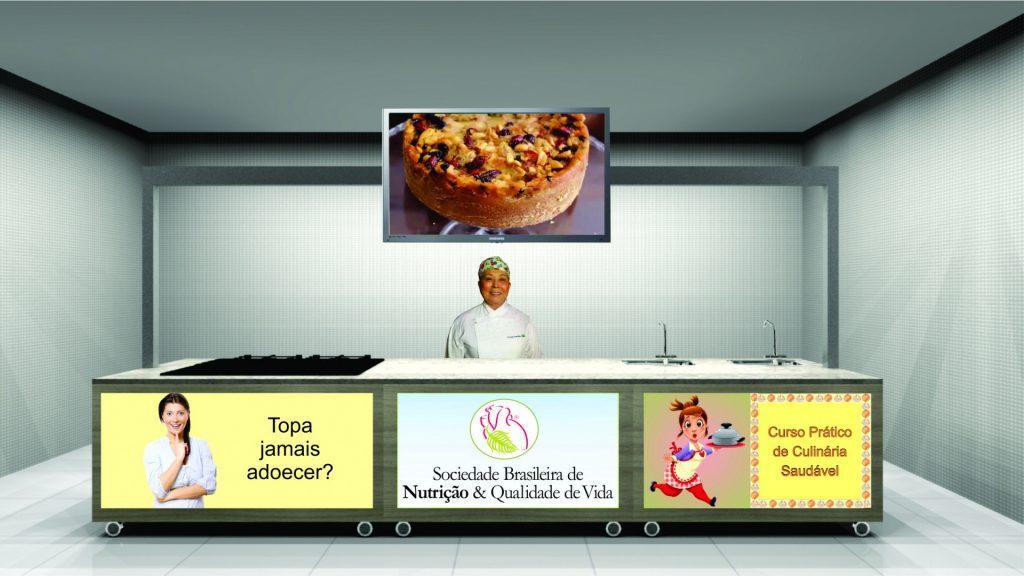 Cozinha Pedagógica móvel frontal