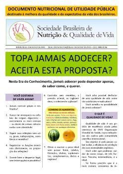 Documento Nutricional de Utilidade Pública