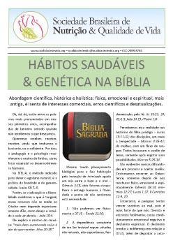 Hábitos Saudáveis e Genética na Bíblia